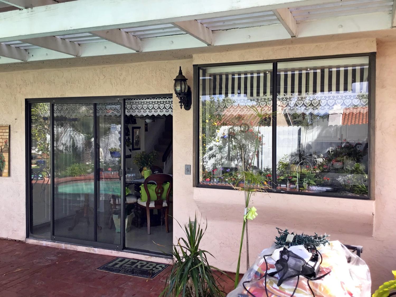 Patio Door and Window Replacement in Lemon Grove BEFORE